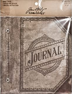 Worn Book Cover by Tim Holtz Idea-ology, Journaler, 7 x 4.5 Inches, TH93097