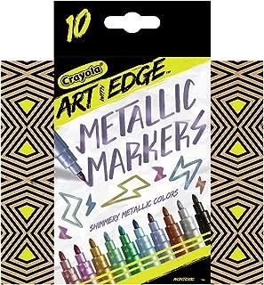 Crayola Art with Edge Metallic Markers 10ct Novelty