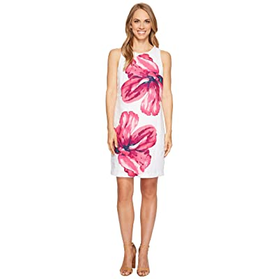 Tommy Bahama Kavala Blossoms Short Dress (White) Women