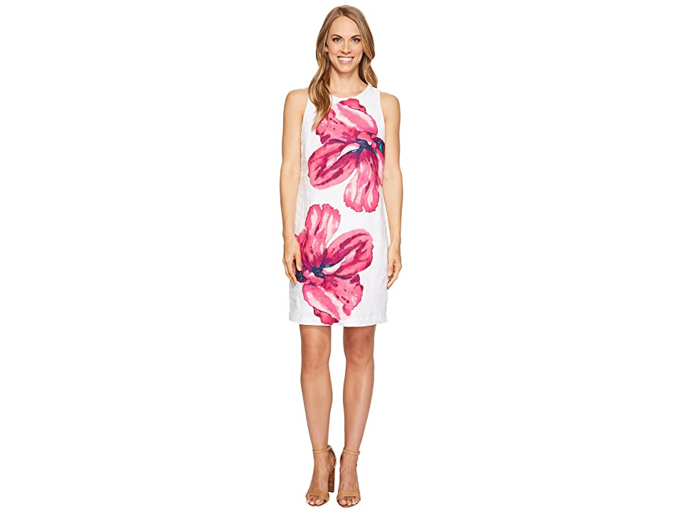Tommy Bahama Kavala Blossoms Short Dress (White) Women