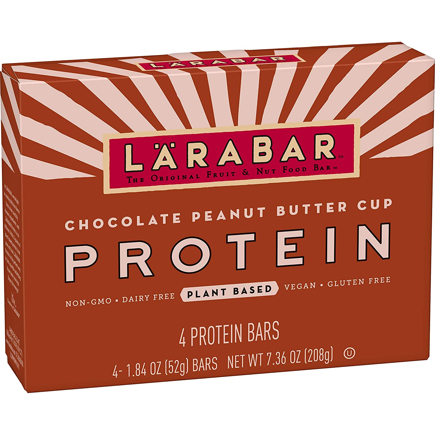 Larabar Protein Bar Chocolate Peanut Cup 4 Outlet SALE Pack Rapid rise Butter Count