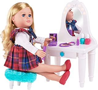 myLife Brand Products My Life As 13 Piece Vanity Table Play Set, for 18