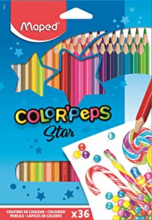 Lápis de Cor Color Peps Caixa x 36, Maped 03, Multicor