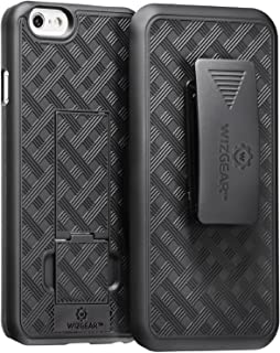 WizGear iPhone 6 Holster, Shell Holster Combo Case for Apple iPhone 6 with Kick-Stand and..