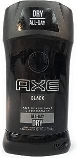 Axe Black Antiperspirant Stick, 2.7 Oz (Pack of 2)