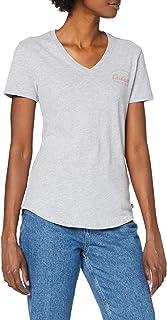 Carhartt Women's Lockhart Graphic T-Shirt, Heather Grey, S