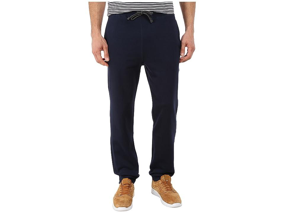 Nautica Knit Pants w/ Rib Cuff (Navy) Men