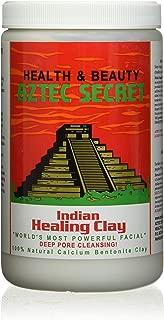 Aztec Secret - Indian Healing Clay - Deep Pore Cleansing Facial & Healing Body Mask - The Worlds Most Powerful Facial - 100% Natural Calcium Bentonite Clay - 908g