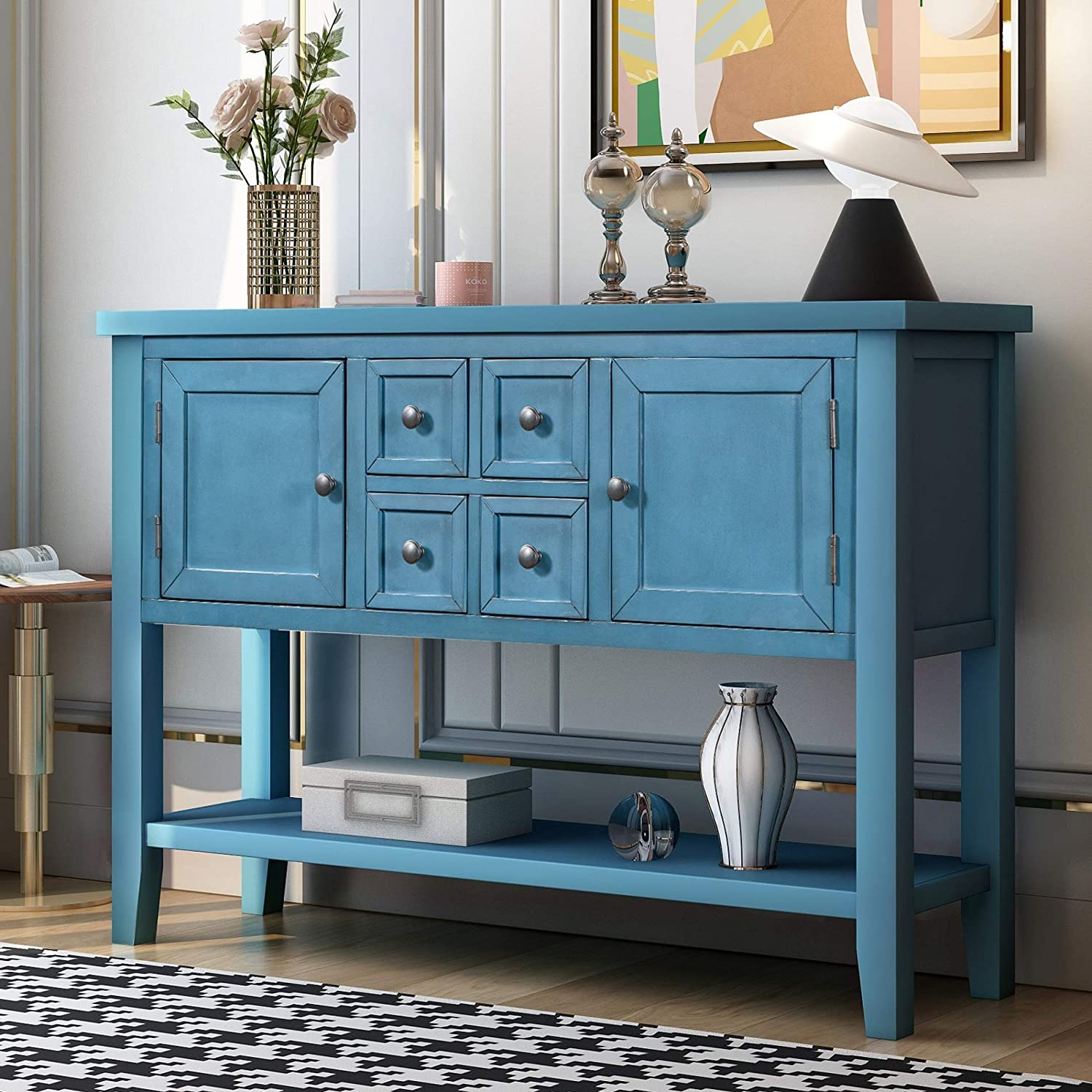 Console Table Sideboard Buffet 正規品スーパーSALE×店内全品キャンペーン Storage fo Cabinet Home おすすめ特集 Furniture