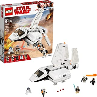 LEGO Star Wars Imperial Landing Craft 75221 Building Kit, Obi-Wan Kenobi, Imperial Shuttle Pilot, Sandtrooper (636 Pieces)