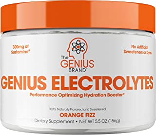 Genius Electrolyte Powder – Natural Hydration Booster | Endurance Supplement with Electrolytes (Potassium, ...