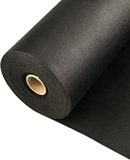 Southwest Boulder & Stone Weed Barrier | Landscape Fabric for Outdoor Gardens | Black Commercial Grade Weed Block Cloth | Heavy-Duty Landscaping Material 6' x 300', 20-Year Guarantee