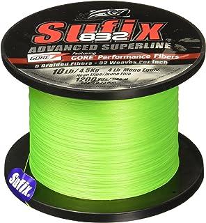 Sufix 832 Braid Line-1200 Yards (Neon Lime, 6-Pound)