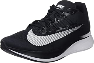 Women's Zoom Fly Running Shoes-Black/White/Anthracite-8.5