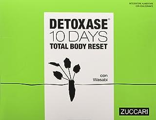 ZUCCARI Detoxase 10 Days Total Body Reset - 10 Stick da 3 g, Totale: 30 g