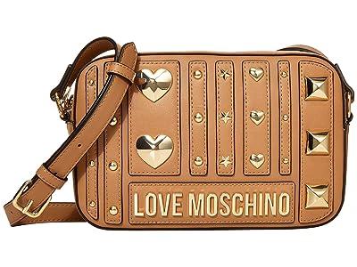 LOVE Moschino Love and More Bag (Camel) Handbags