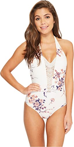 Roxy Sea Lovers One-Piece Swimsuit