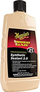 Meguiar's M2116 Mirror Glaze Synthetic Sealant 2.0, 16 Fluid Ounces, 1 Pack