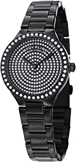Stuhrling Original Women's 683.02 Symphony Analog Display Swiss Quartz Black Watch