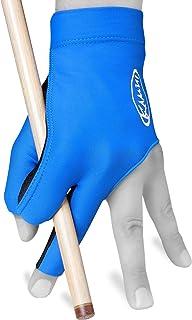 KAMUI 台球手套 - 快干 - 左手 - 蓝色 蓝色 小号