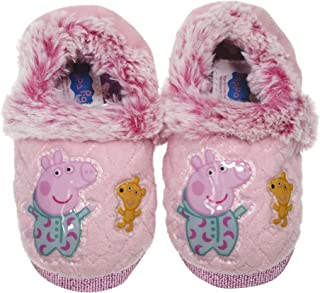 Peppa Pig Goodnight Slippers for Kids Slippers for Girls, Available in