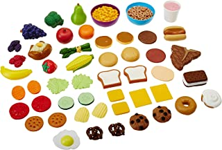 Learning Resources New Sprouts Complete Play Food Set, 50 Pieces (Renewed)