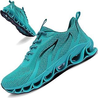 Men Running Walking Shoes Sport Athletic Wihte Jogging Sneakers