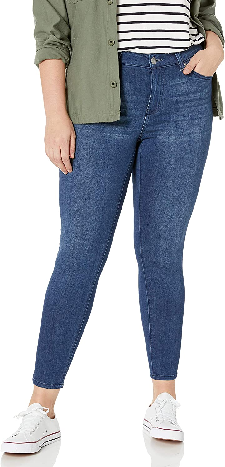 Celebrity Max 43% OFF Pink Jeans Ranking TOP4 Women's Infinite Je Rise Stretch Mid Skinny