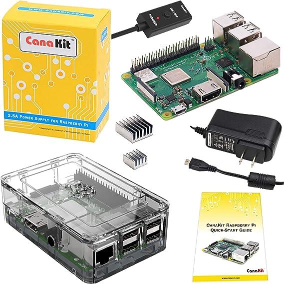 CanaKit Raspberry Pi 3 B