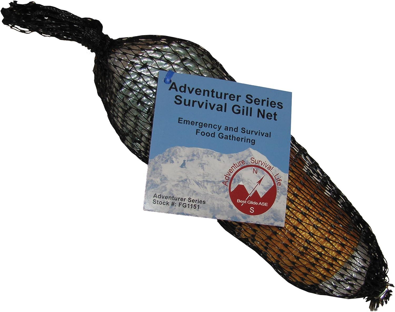 Best Glide ASE Adventurer Survival Gill Net Max 43% Mail order cheap OFF