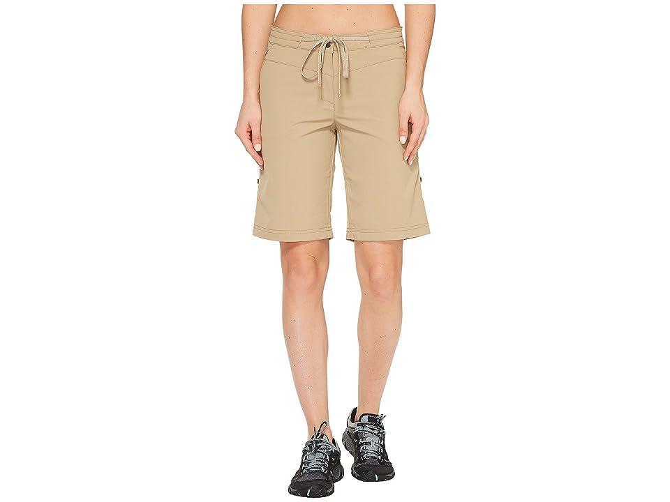 Jack Wolfskin Pomona Shorts (Sand Dune) Women