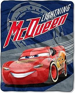 Disney Cars Movie 3 Soft Throw Blanket for Kids Lightning Mcqueen 40 x 50