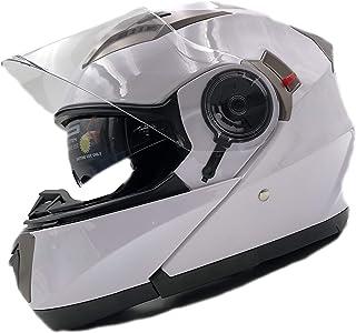 Nat Hut Casco Moto Modular ECE Homologado Casco de Moto