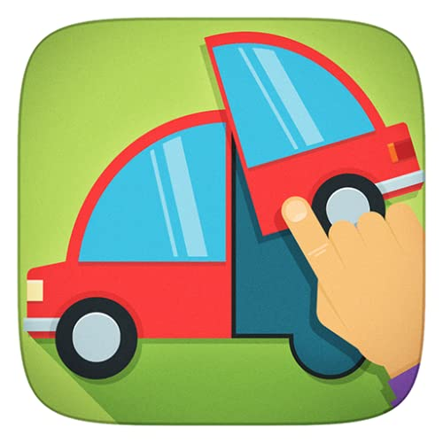Caminhões , guindastes, veículos e todos os carros jogar puzzle Jogos - Aplicação para Crianças Meninas e Meninos (Baby , Criança e pré-escolar )