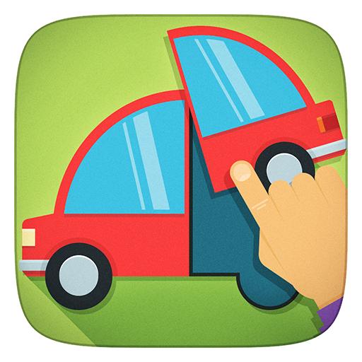 Lkw, Kräne, Fahrzeuge und alle Auto Freie Puzzles Spiele - App für Kinder Mädchen und Jungen (Baby, Kleinkind und Vorschule)