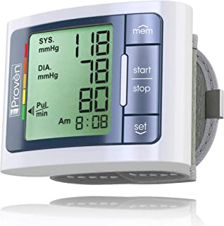 Blood Pressure Monitor Wrist - BP Wrist Cuff Full Automatic - Clinically Accurate & Fast Reading