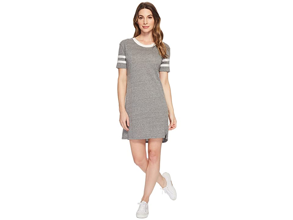 Alternative Eco Jersey Stadium T-Shirt Dress (Eco Grey) Women