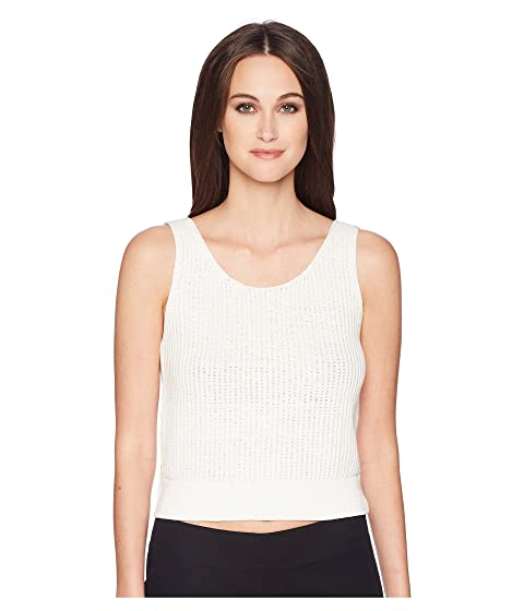 Vince Crossover Tank Top Off White Modesens