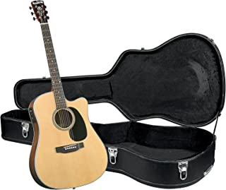 Blueridge BR-60CE Contemporary Series Cutaway Acoustic-Electric Dreadnought Guitar with ハードケース アコースティックギター アコギ ギター (並行輸入)