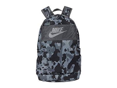 Nike Elemental Backpack All Over Print 2.0 (Iron Grey/Iron Grey/White) Backpack Bags