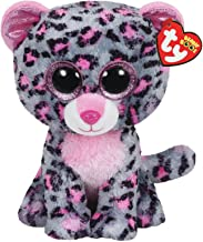 Ty 36151 Tasha Leopard-Beanie BOOS, Multicolored, Small