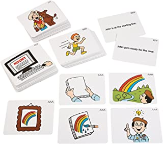 Fun Express - Sequencing Story Cards - Educational - Teaching Aids - Language Arts - 212 Pieces