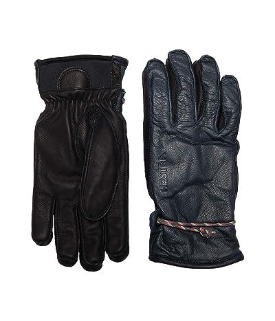 Hestra Wakayama Five Finger (Grey/Black) Ski Gloves