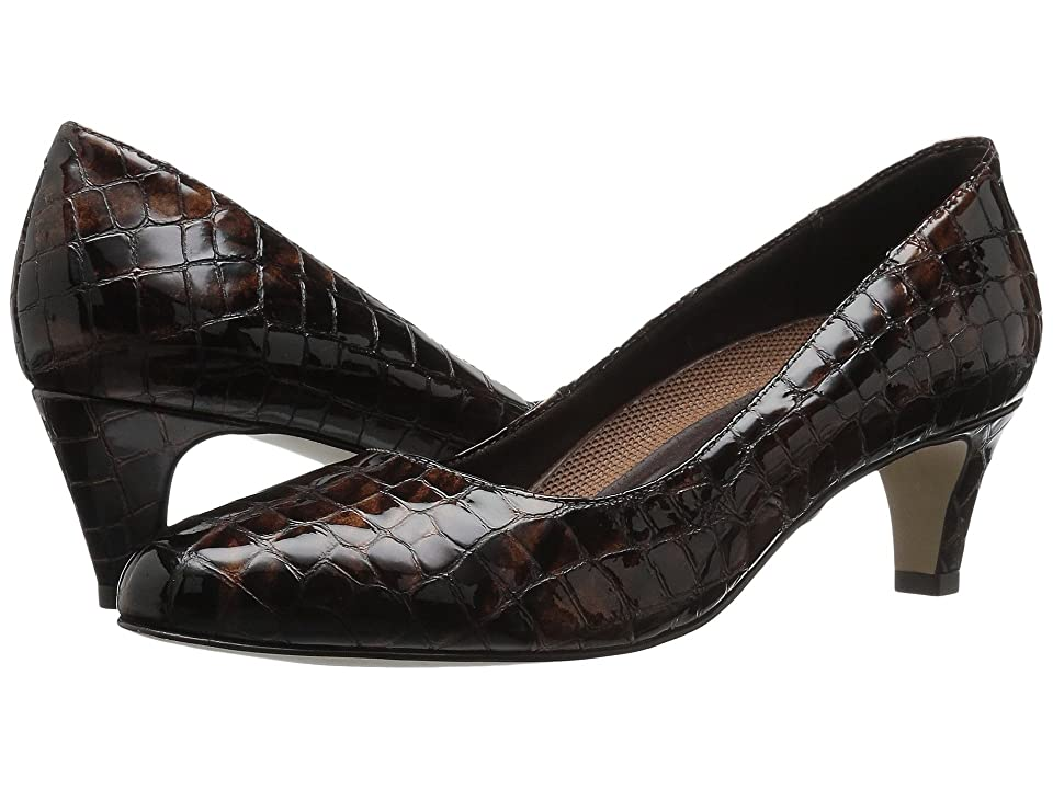 Walking Cradles Joy (Brown Patent Crocco) Women
