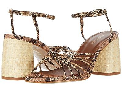 ALOHAS Praia 2 Heeled Sandals (Snake) Women