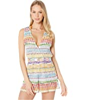Missoni Mare - Deep V Cover-Up Romper