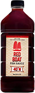 Red Boat Fish Sauce 40N, 64 oz
