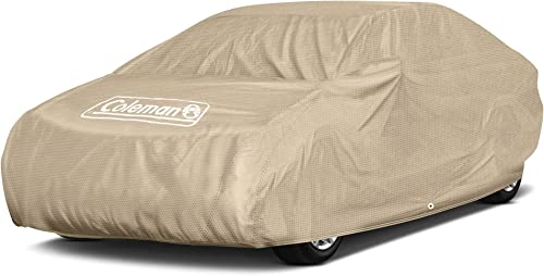 """discount Coleman Premium Executive new arrival Car Cover - Indoor-Outdoor Cover Water 2021 Resistant/Dustproof/Scratch Resistant/UV Protection for Vehicles up to 160"""" Inches sale"""