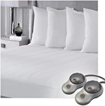 quilted electric mattress pad