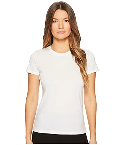 Vince Essential Crew (Optic White) Women